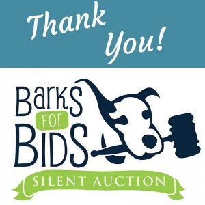 Bark for Bids Thank You!